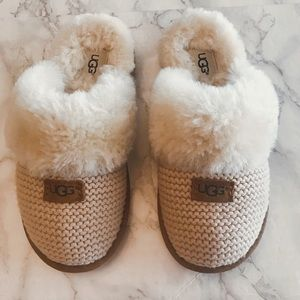 New UGG Cozy Knit Slippers no box - 6